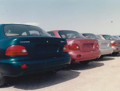 1994 – Hyundai launches in Israel