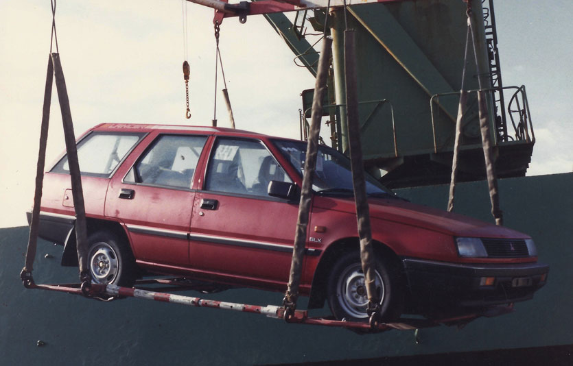 1988 – Getting the rights to import Mitsubishi