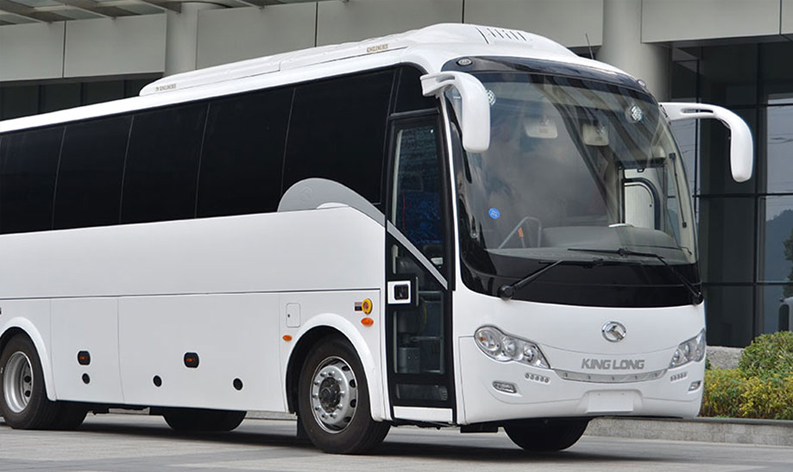 "2014 – Importing buses from the ""King Long"" company"